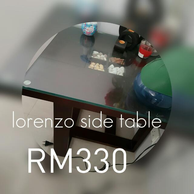 Lorenzo Side Table/ Coffee Table