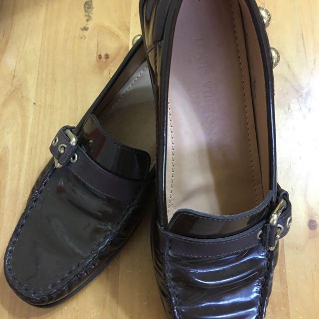LV平底樂福鞋
