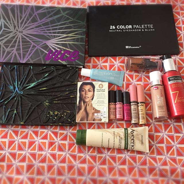 Makeup, Hair And Skin Products