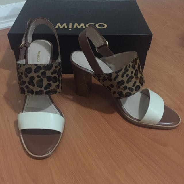Mimco Thick Heels - Size 39 - 100% Leather