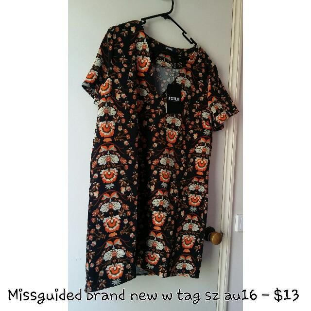Missguided Bn Summer Dress Plus Size