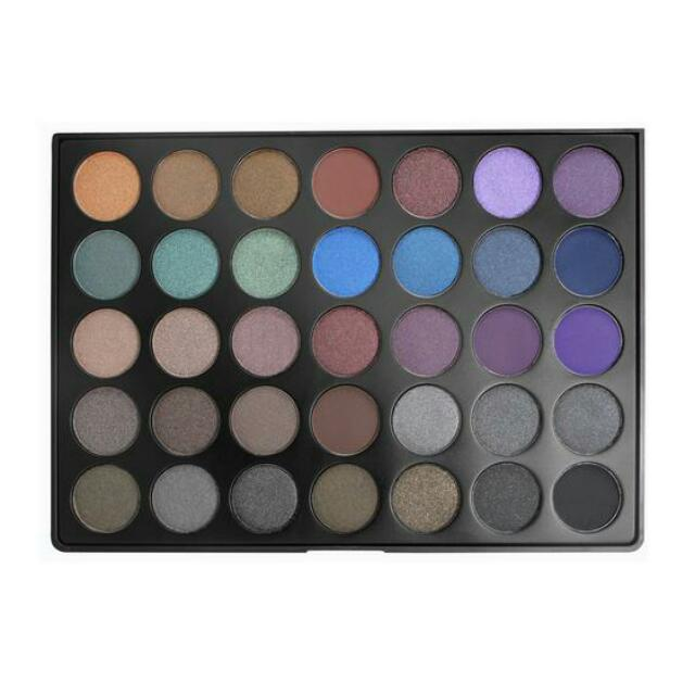 Morphe 35D - 35 Color Dark Smoky Palette