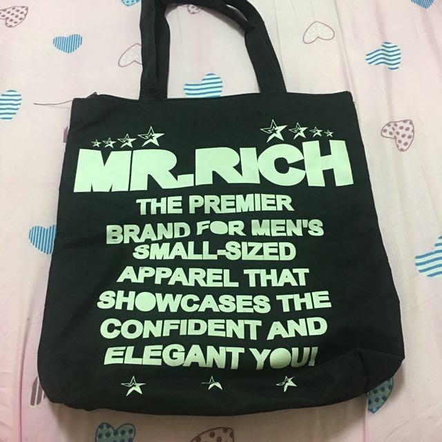 MR.RICH中性品牌 帆布包