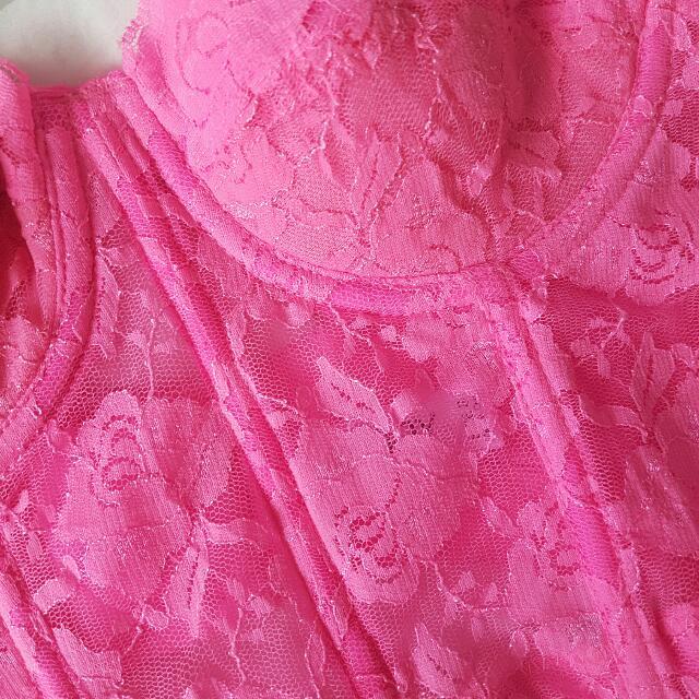 Neon Pink Bralette