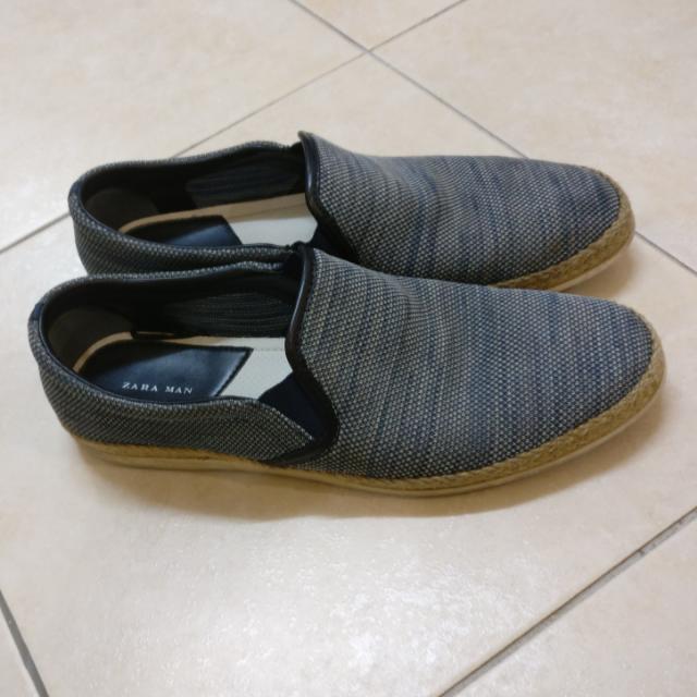 cb159b97 Original Zara Men Shoes Slip on Sneakers Casual, Men's Fashion, Footwear on  Carousell