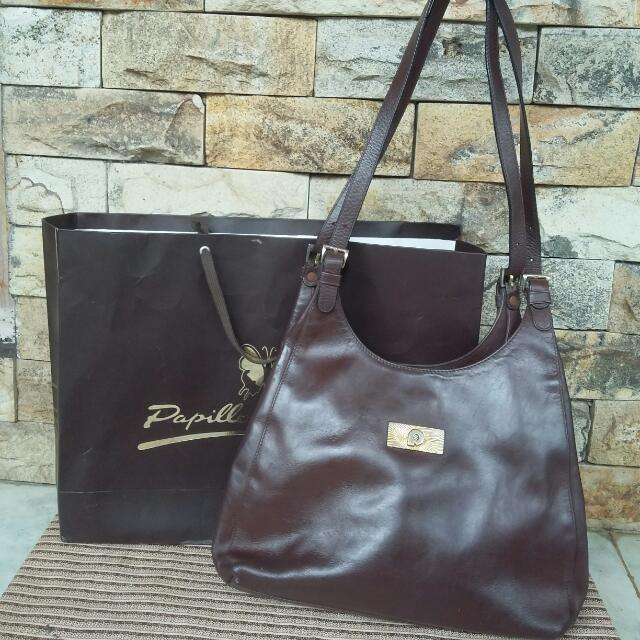Papillon Leather Bag [ORI]