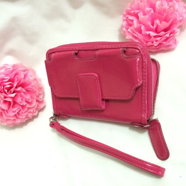 PINK WALLET with MOBILE POUCH  👛📱