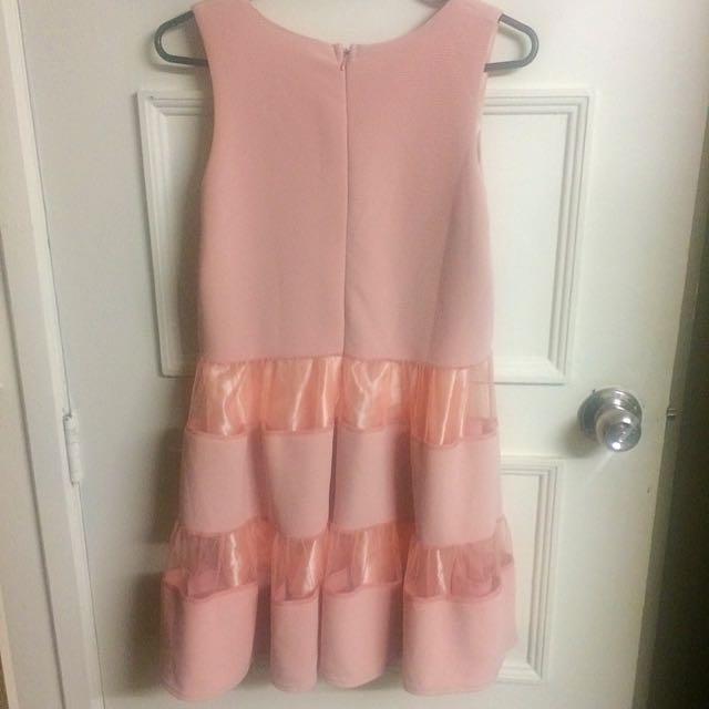 Pinky Peach Max Dress