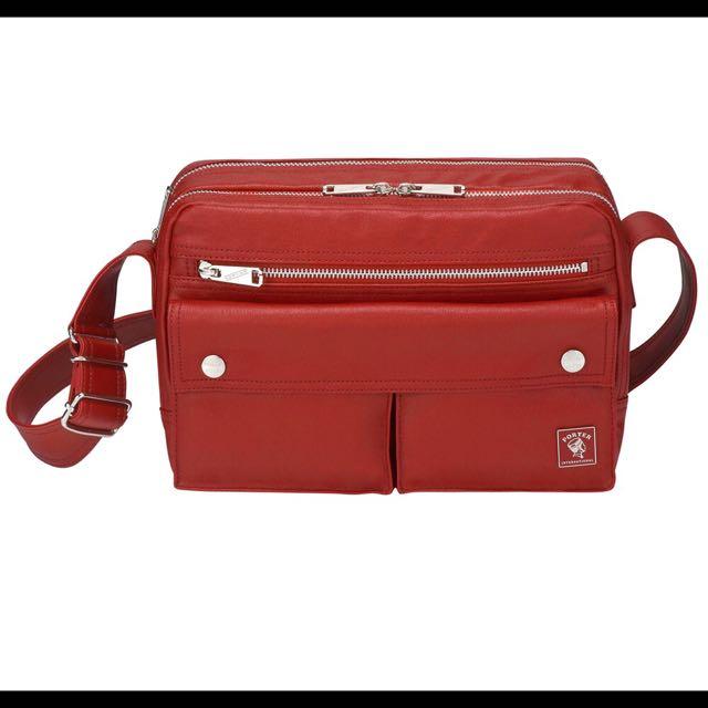 Porter 側背包紅色