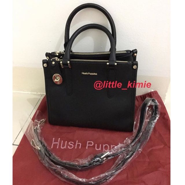 Preloved Hush Puppies Bag Warna Hitam