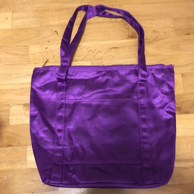 Purple Tote