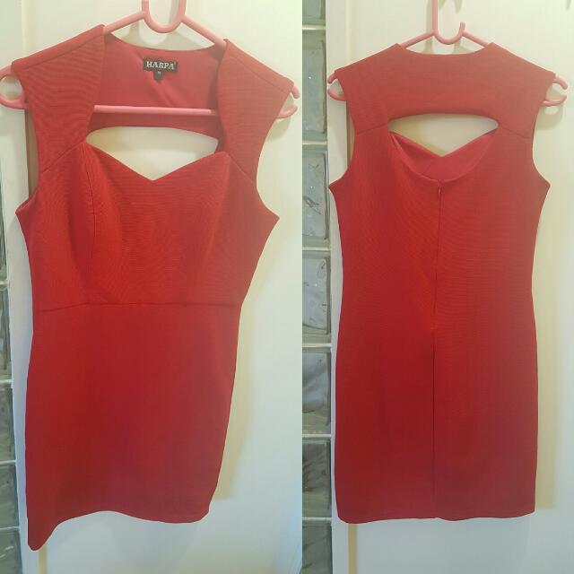 Red Party Wear Dress, White Vero Moda Dress, Baby Pink Skirt, Blue Lace Dress