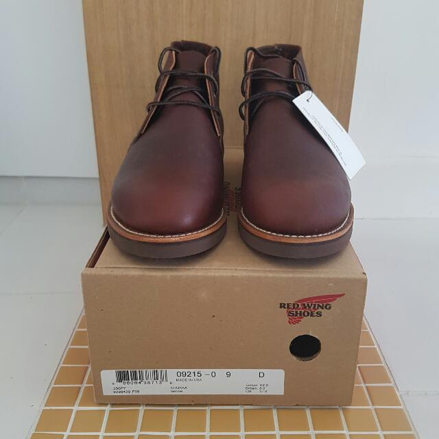 341234b69f9 Red Wing Foreman Chukka Boots 9215 US9, Everything Else on Carousell