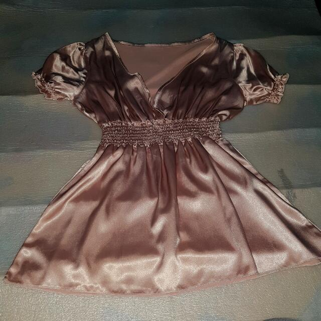Rose Gold Top Pre-loved