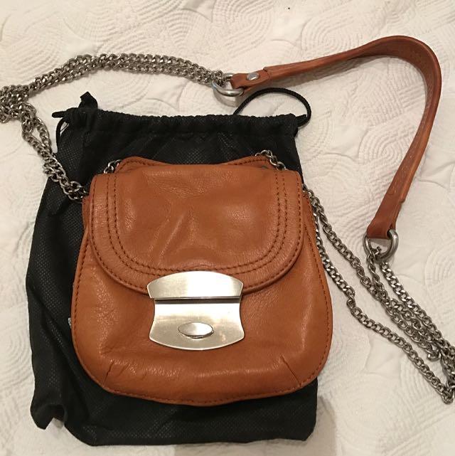 Saba Leather Shoulder Bag