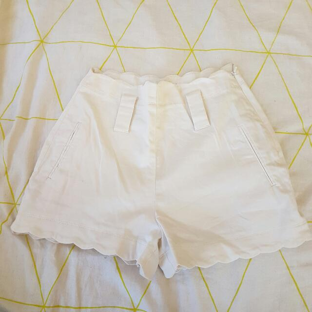 Scallop Cut Shorts Forever New