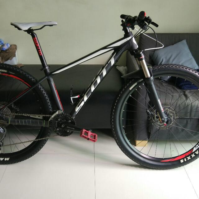 43203d82419 Scott Scale 770 2016 Small, Bicycles & PMDs, Bicycles on Carousell
