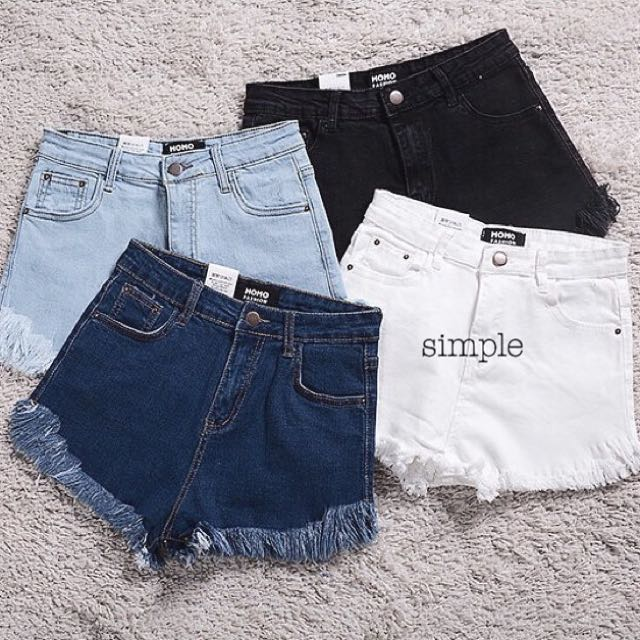 Scrub Fringe Shorts