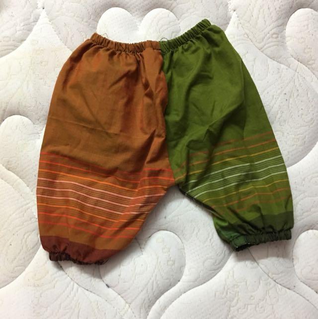 seluar batik baby boy