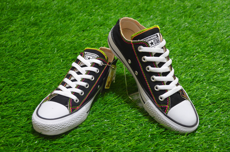 sepatu converse authentic converse black converse hitam converse rainbow