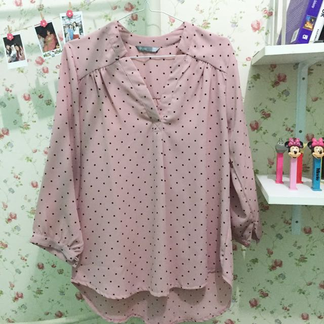 St. Yves Pink Blouse
