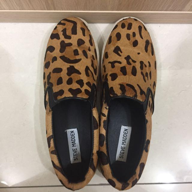 STEVE MADDEN 豹紋嘻哈風女鞋