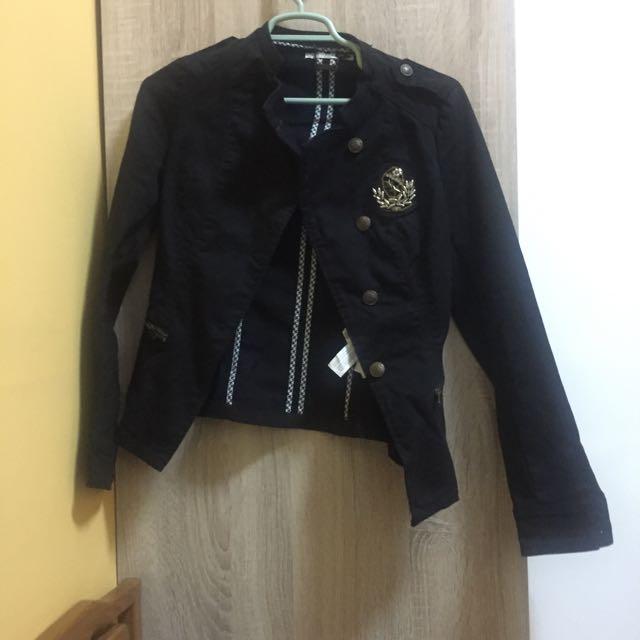 Stradivarius Black Jacket