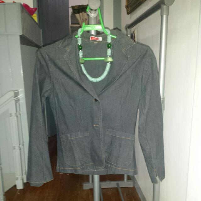 Stretchable Denim Jacket From Zalora