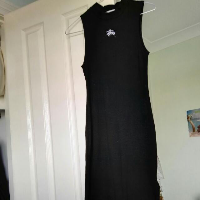 Stussy Size 10 Fitted Dress