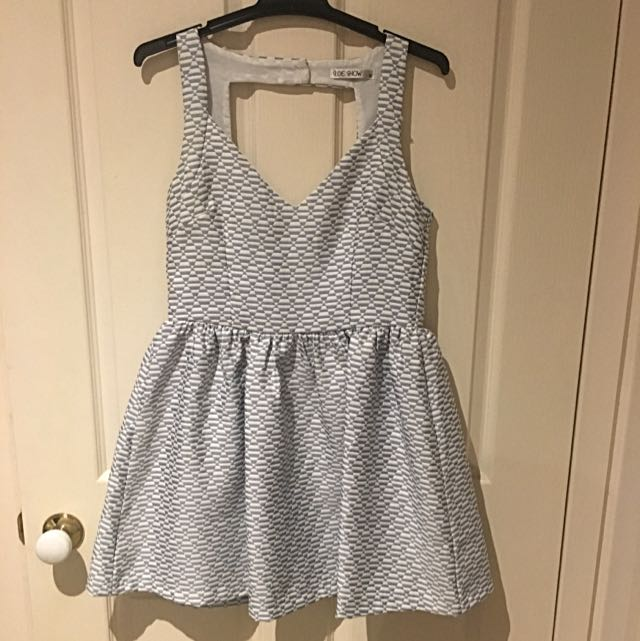 Summer Dress Back Cut Out