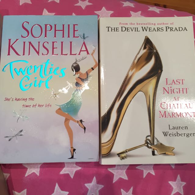 The Last Night At Chateau Marmont Book And Twenties Girl By Sophie Kinsella