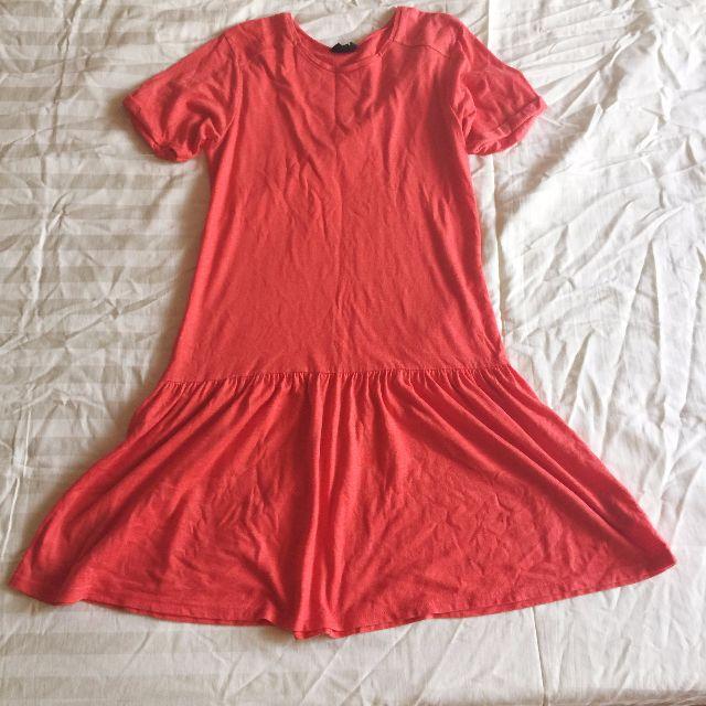TOPSHOP Drop-waist Dress