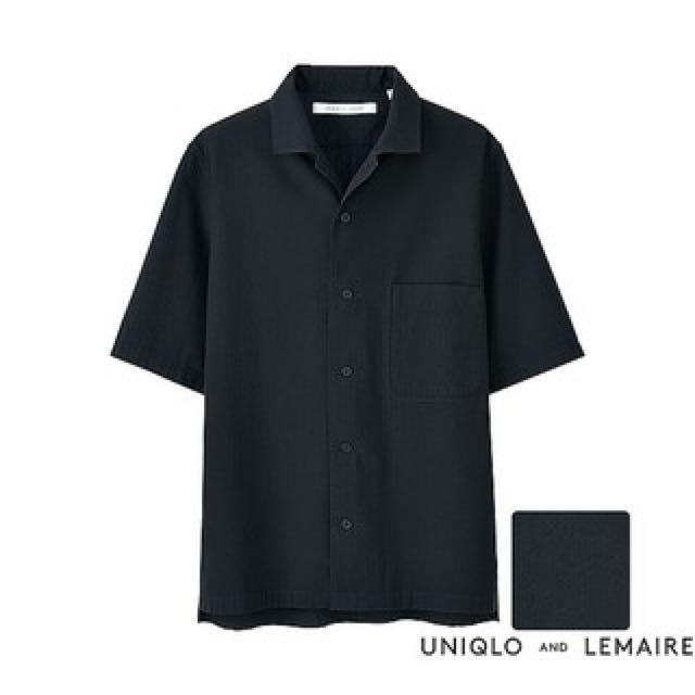 Uniqlo x Lemaire 泡泡紗襯衫