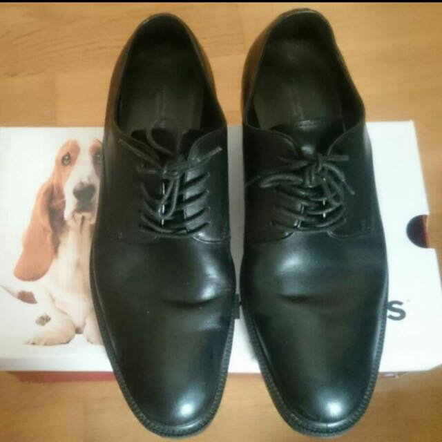 Used Black Leather Shoes