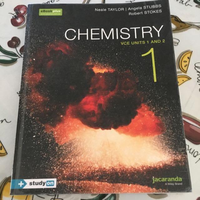 VCE Chemistry Units 1 & 2