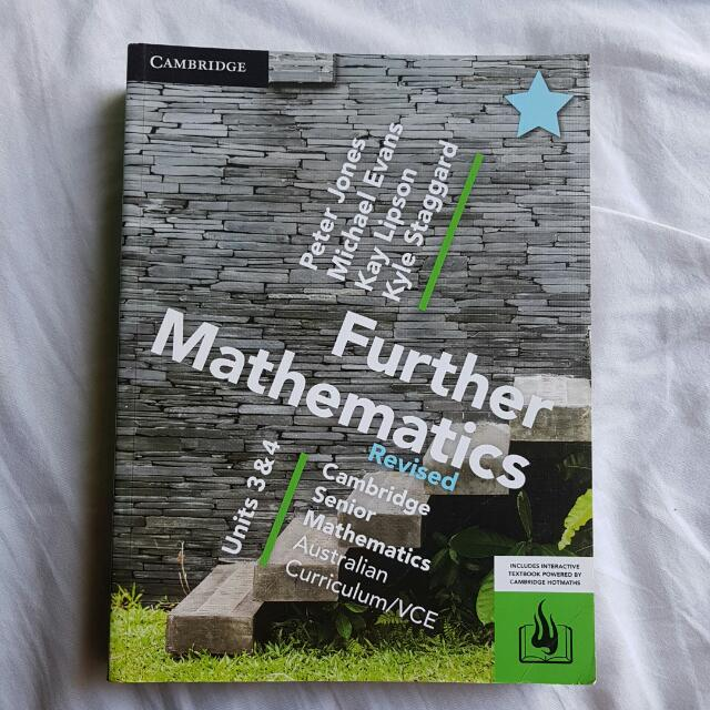 VCE Further Mathematics REVISED Units 3&4 Textbook