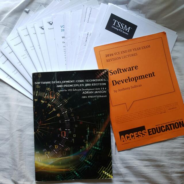 VCE Software Development Units 3&4 Pack W/ Text Book