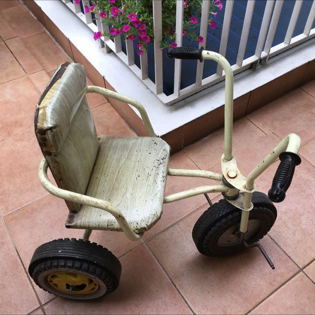 Vintage Children Tricycle.