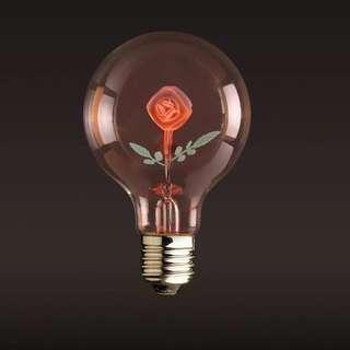 自留款🌸愛迪生花泡💡餐廳咖啡廳創意裝飾婚慶燈泡 LOVE 太陽花 玫瑰花燈泡🌹情人節浪漫首選實拍照