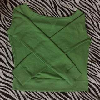 Green Pullover/sweater