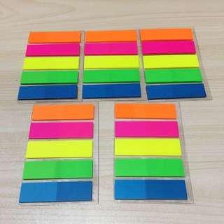 Plastic Post-It Sticky Label Pad