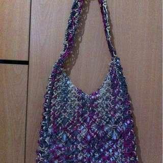 Native woven shoulder bag