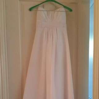 Debutante Formal Dress, White Size 6
