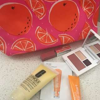Clinique Makeup Bag + More!