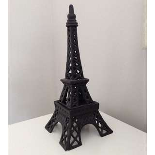 Cast Iron Eiffel Tower Candle Holder