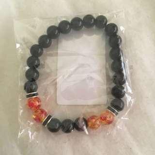 Bracelet Lava Beads
