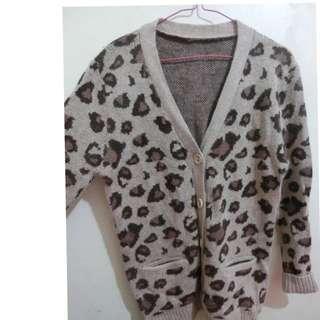 豹紋毛衣/豹紋外套