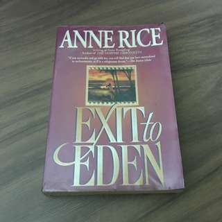 Ann Rice's Exit To Eden * RA Rated