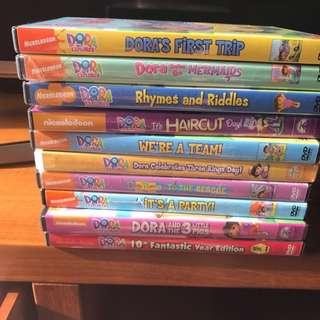 Dora DVDs