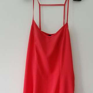 H&M Coral Dress